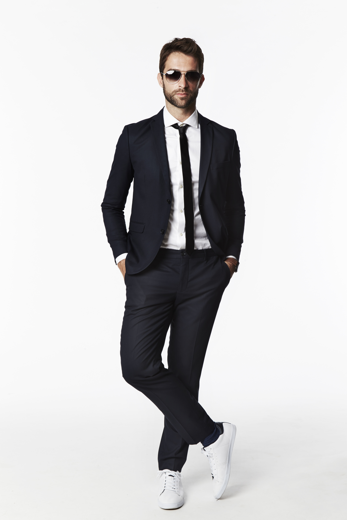 Suits and Tennis Shoes — What Gives